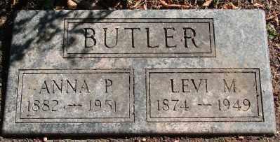 BUTLER, ANNA P - Marion County, Oregon | ANNA P BUTLER - Oregon Gravestone Photos
