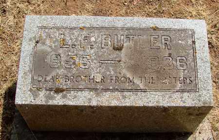 BUTLER, LEWIS FRANKLIN - Marion County, Oregon | LEWIS FRANKLIN BUTLER - Oregon Gravestone Photos