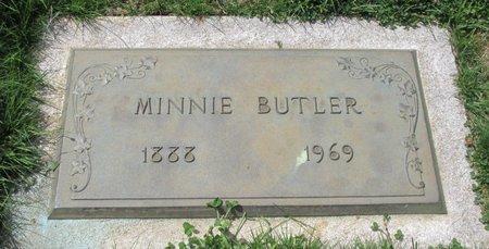 BUTLER, MONA - Marion County, Oregon   MONA BUTLER - Oregon Gravestone Photos