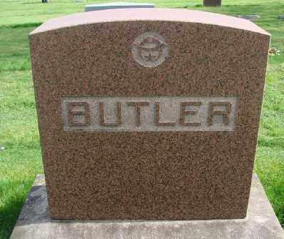 BUTLER, OTIS D - Marion County, Oregon | OTIS D BUTLER - Oregon Gravestone Photos