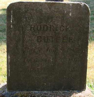 BUTLER, RODERICK ROY - Marion County, Oregon | RODERICK ROY BUTLER - Oregon Gravestone Photos