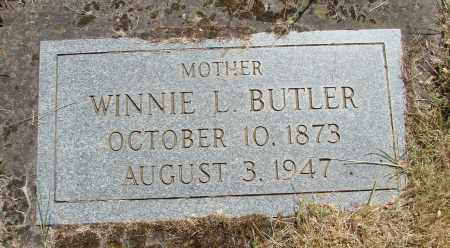 BUTLER, WINNIE L - Marion County, Oregon | WINNIE L BUTLER - Oregon Gravestone Photos