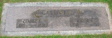 CALDWELL, MAGGIE A - Marion County, Oregon | MAGGIE A CALDWELL - Oregon Gravestone Photos