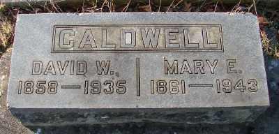 CALDWELL, MARY E - Marion County, Oregon | MARY E CALDWELL - Oregon Gravestone Photos