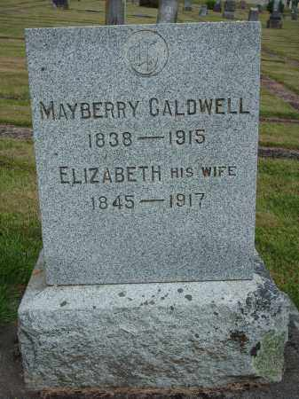 CALDWELL, MAYBERRY - Marion County, Oregon | MAYBERRY CALDWELL - Oregon Gravestone Photos