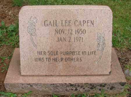 CAPEN, GAIL LEE - Marion County, Oregon | GAIL LEE CAPEN - Oregon Gravestone Photos