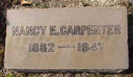 CARPENTER, NANCY E - Marion County, Oregon | NANCY E CARPENTER - Oregon Gravestone Photos