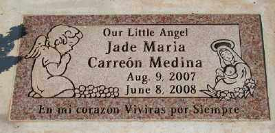 CARREON MEDINA, JADE MARIA - Marion County, Oregon | JADE MARIA CARREON MEDINA - Oregon Gravestone Photos