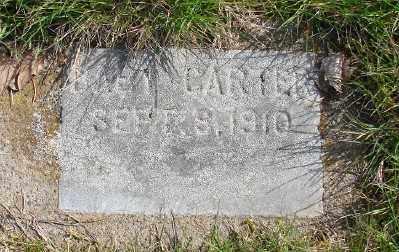 CARTER, BABY - Marion County, Oregon | BABY CARTER - Oregon Gravestone Photos