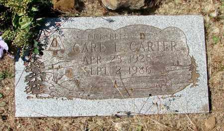 CARTER, CARL LEON - Marion County, Oregon | CARL LEON CARTER - Oregon Gravestone Photos