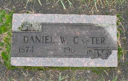 CARTER, DANIEL W - Marion County, Oregon | DANIEL W CARTER - Oregon Gravestone Photos
