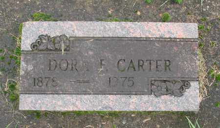 CARTER, DORA F - Marion County, Oregon | DORA F CARTER - Oregon Gravestone Photos