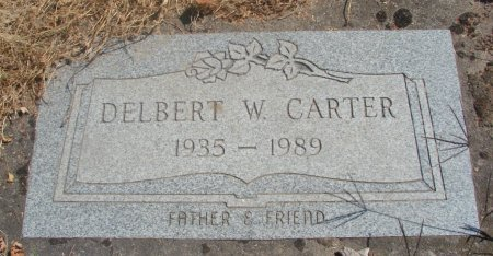 CARTER, DELBERT WILLIAM - Marion County, Oregon | DELBERT WILLIAM CARTER - Oregon Gravestone Photos