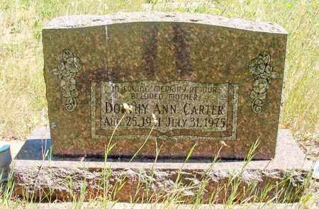 CARTER, DORTHY ANN - Marion County, Oregon | DORTHY ANN CARTER - Oregon Gravestone Photos