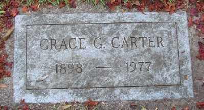 CARTER, GRACE G - Marion County, Oregon | GRACE G CARTER - Oregon Gravestone Photos