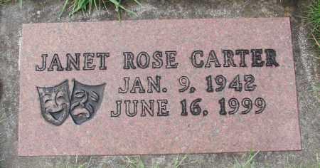 CARTER, JANET ROSE - Marion County, Oregon   JANET ROSE CARTER - Oregon Gravestone Photos
