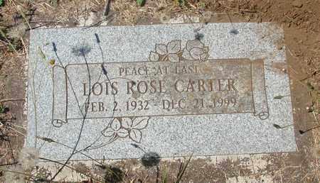 CARTER, LOIS ROSE - Marion County, Oregon | LOIS ROSE CARTER - Oregon Gravestone Photos