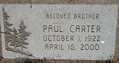 CARTER, PAUL - Marion County, Oregon | PAUL CARTER - Oregon Gravestone Photos