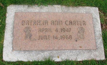 CARTER, PATRICIA ANN - Marion County, Oregon | PATRICIA ANN CARTER - Oregon Gravestone Photos