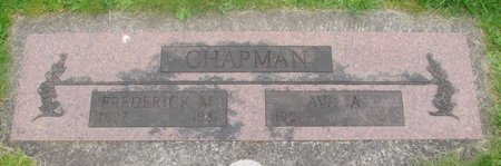 CHAPMAN, AVA A - Marion County, Oregon | AVA A CHAPMAN - Oregon Gravestone Photos