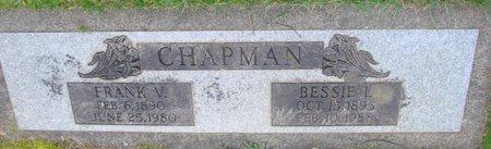 CHAPMAN, FRANK V - Marion County, Oregon   FRANK V CHAPMAN - Oregon Gravestone Photos