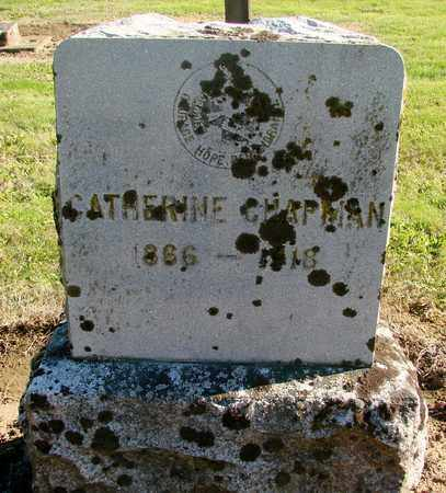 CHAPMAN, CATHERINE - Marion County, Oregon | CATHERINE CHAPMAN - Oregon Gravestone Photos