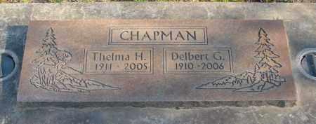 CHAPMAN, DELBERT GRANT - Marion County, Oregon | DELBERT GRANT CHAPMAN - Oregon Gravestone Photos