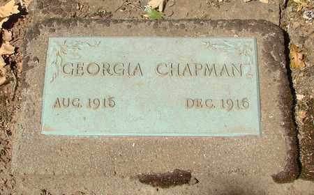 CHAPMAN, GEORGIA - Marion County, Oregon | GEORGIA CHAPMAN - Oregon Gravestone Photos