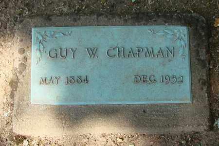 CHAPMAN, GUY WINFORD - Marion County, Oregon | GUY WINFORD CHAPMAN - Oregon Gravestone Photos