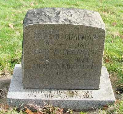 MORRISON CHAPMAN, MARY ANN - Marion County, Oregon | MARY ANN MORRISON CHAPMAN - Oregon Gravestone Photos