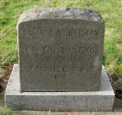 CHAPMAN, SERENA A - Marion County, Oregon   SERENA A CHAPMAN - Oregon Gravestone Photos