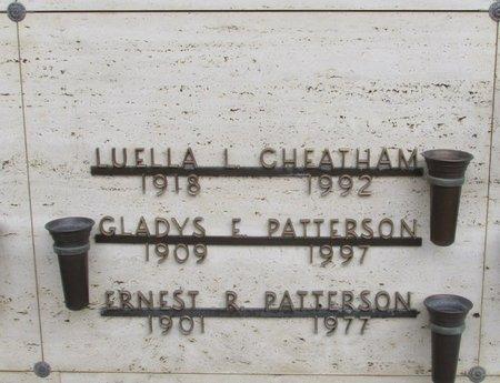 PATTERSON, ERNEST R - Marion County, Oregon | ERNEST R PATTERSON - Oregon Gravestone Photos