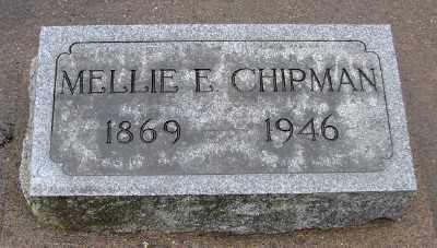 CHIPMAN, MELLIE C - Marion County, Oregon   MELLIE C CHIPMAN - Oregon Gravestone Photos
