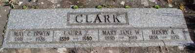 CLARK, MARY JANE W - Marion County, Oregon | MARY JANE W CLARK - Oregon Gravestone Photos