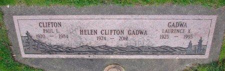 CLIFTON, HELEN - Marion County, Oregon | HELEN CLIFTON - Oregon Gravestone Photos