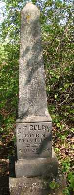 COLBY, ELIAS FROST - Marion County, Oregon | ELIAS FROST COLBY - Oregon Gravestone Photos