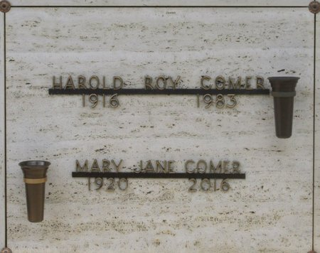 COMER, MARY JANE - Marion County, Oregon | MARY JANE COMER - Oregon Gravestone Photos