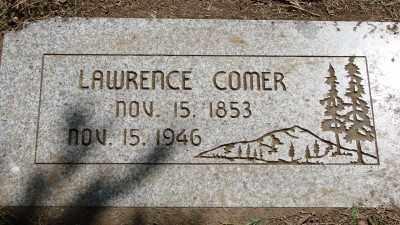 COMER, LAWRENCE - Marion County, Oregon   LAWRENCE COMER - Oregon Gravestone Photos