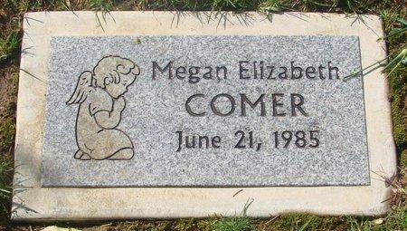 COMER, MEGAN ELIZABETH - Marion County, Oregon   MEGAN ELIZABETH COMER - Oregon Gravestone Photos