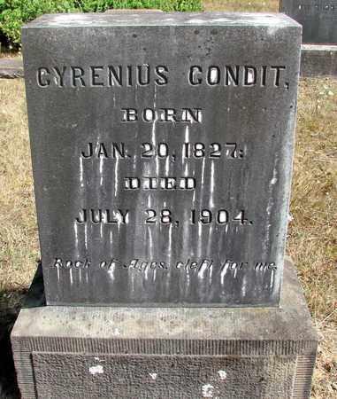 CONDIT, CYRENIUS - Marion County, Oregon | CYRENIUS CONDIT - Oregon Gravestone Photos