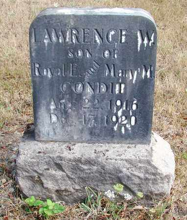 CONDIT, LAWRENCE WINFIELD - Marion County, Oregon | LAWRENCE WINFIELD CONDIT - Oregon Gravestone Photos