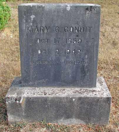 CONDIT, MARY C - Marion County, Oregon | MARY C CONDIT - Oregon Gravestone Photos