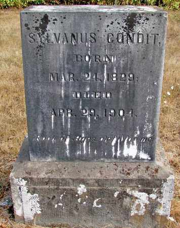 CONDIT, SYLVANUS - Marion County, Oregon | SYLVANUS CONDIT - Oregon Gravestone Photos