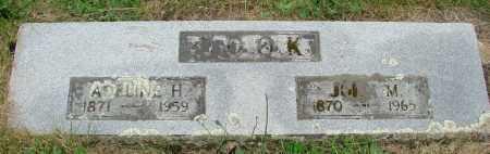 COOK, JOHN M - Marion County, Oregon | JOHN M COOK - Oregon Gravestone Photos