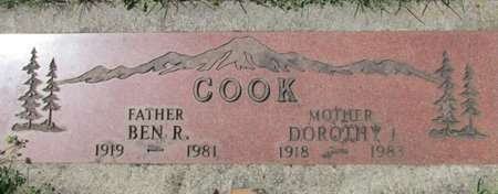 COOK, BENJAMIN ROSS - Marion County, Oregon | BENJAMIN ROSS COOK - Oregon Gravestone Photos