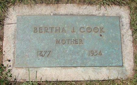 COOK, BERTHA J - Marion County, Oregon | BERTHA J COOK - Oregon Gravestone Photos