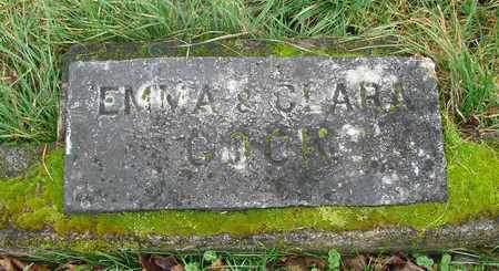 COOK, CLARA - Marion County, Oregon | CLARA COOK - Oregon Gravestone Photos