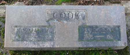 COOK, ESTELLE M - Marion County, Oregon | ESTELLE M COOK - Oregon Gravestone Photos