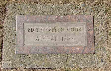 COOK, EDITH EVELYN - Marion County, Oregon | EDITH EVELYN COOK - Oregon Gravestone Photos