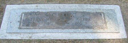 COOK, ORPHA L - Marion County, Oregon | ORPHA L COOK - Oregon Gravestone Photos